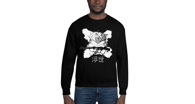 Floating world Unisex Crewneck Sweatshirt