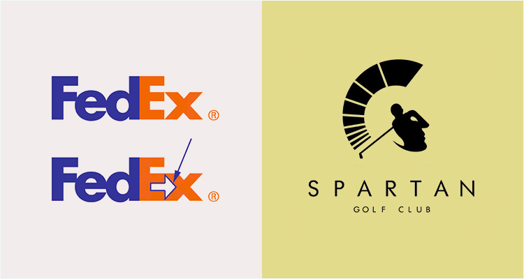 Negative Spaces Logo