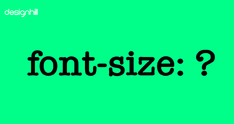 Convey Using Font Sizes