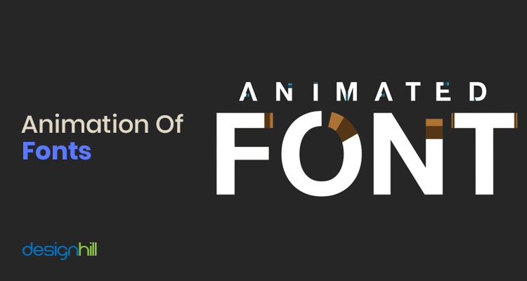 Animation Of Fonts