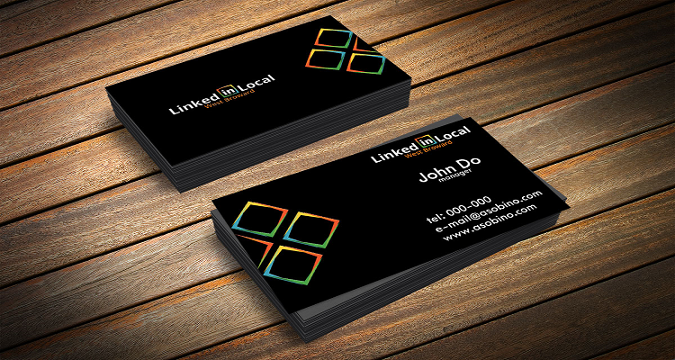 Neda Nadj Business Card Design