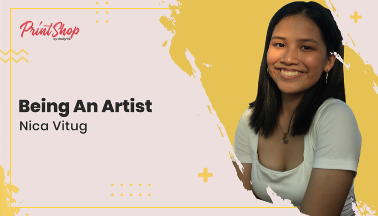Being An Artist - Nica Vitug