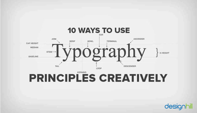 Use Typography Principles Creatively