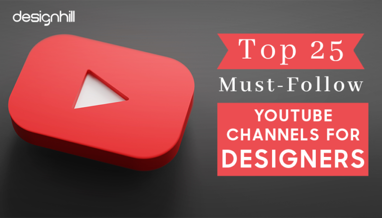 Must-Follow YouTube Channels For Designers