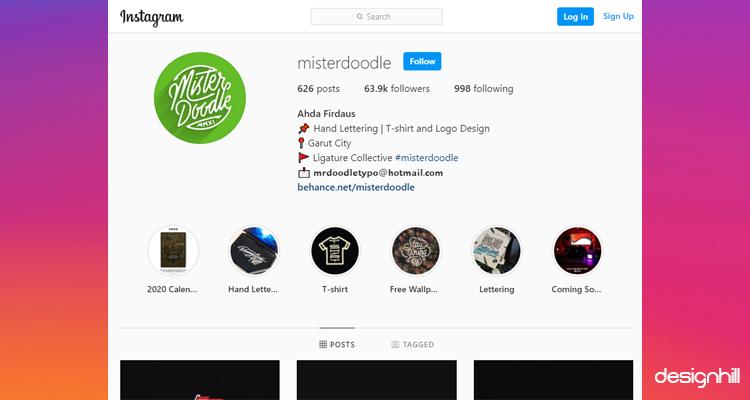 Mister Doodle Instagram Account