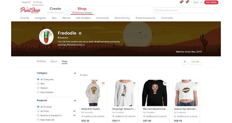 Fred Odle Artist Shop