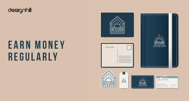 Earn money regularly