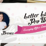 Letter Like A Pro With Everyday Office Supplies Part-2 - Catalina Brenes