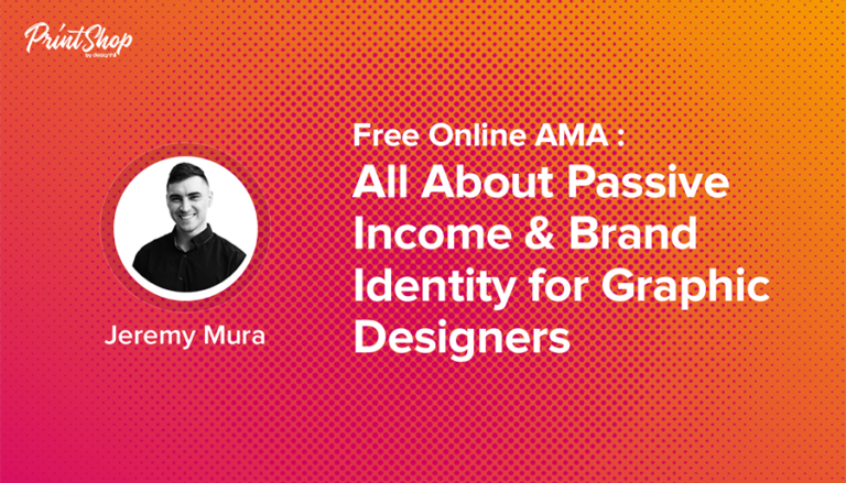 All About Passive Income & Brand Identity for Graphic Designers