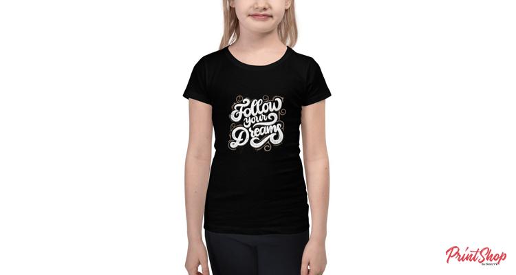 Follow Your Dreams Kids Premium T-Shirt