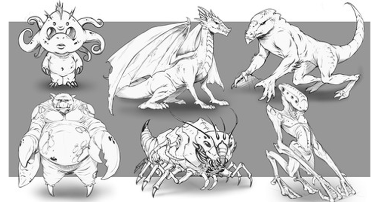 Improve Your Creature Design Drawings