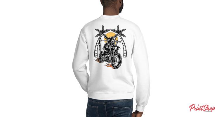 Just Ride Unisex Crewneck Sweatshirt