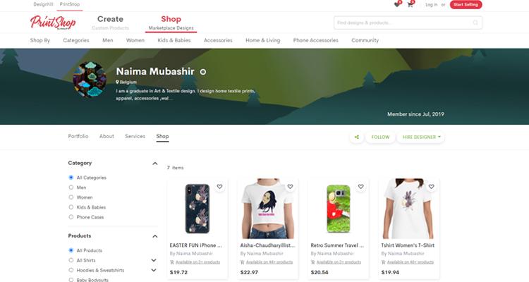 Naima Mubashir Shop