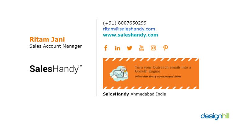Email Outreach Signature