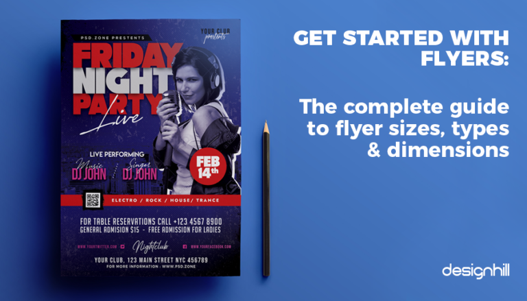 Get Started With Flyers: The Complete Guide To Flyer Sizes, Types And Dimensions