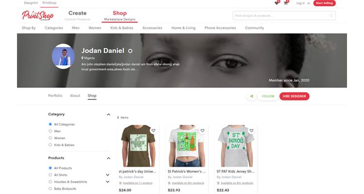 Jodan Daniel Shop