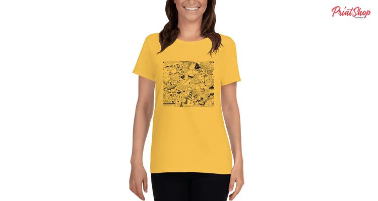 Funny Doodle Women T-Shirt