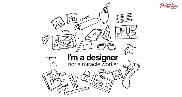 I'm a Designer Doodle Art