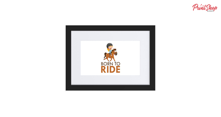 Born to Ride Framed Poster