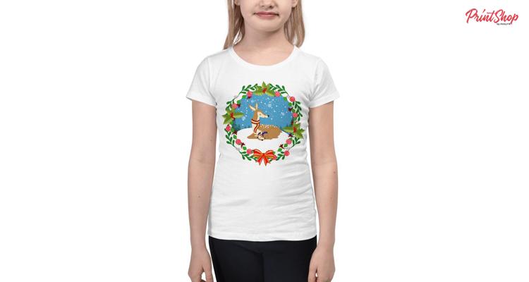 Winter Wonderland Kids Premium T-Shirt
