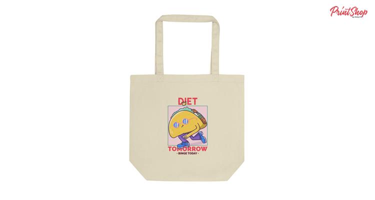 Diet Tomorrow Organic Cotton Tote Bag