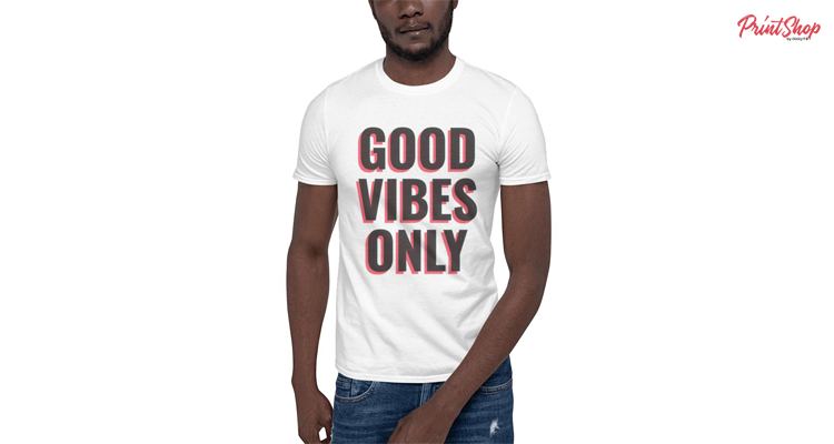 Good vibes only Unisex Softstyle T-shirt