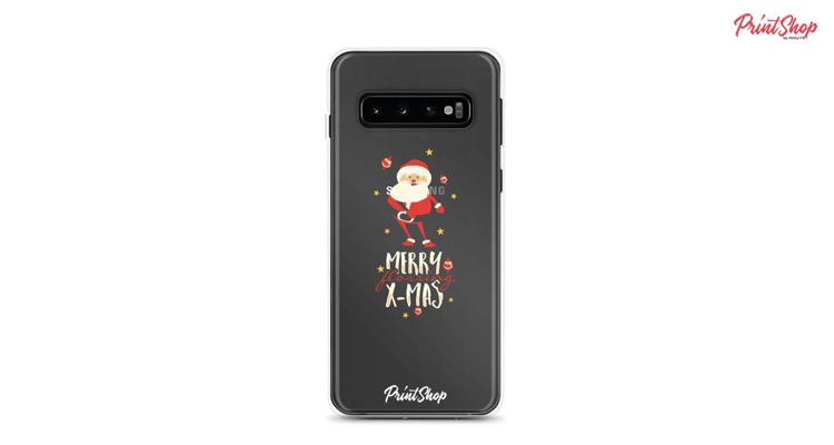 Merry Christmas Santa Clear Samsung Case