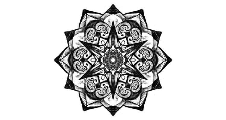 Tattoo Design Mandala