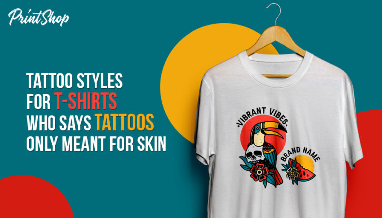 Tattoo Styles For T-shirts