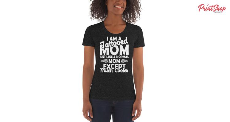 Tattooed Mom Women's Triblend T-Shirt