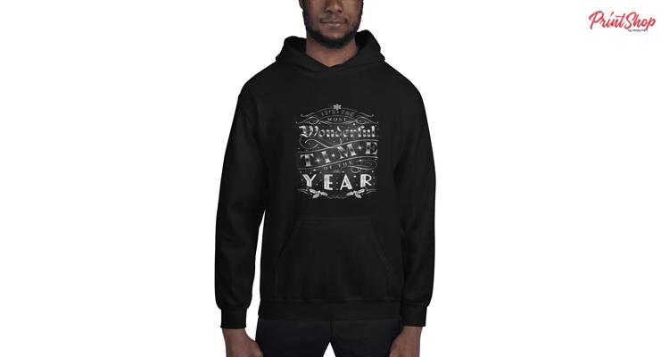 wonderful time of the year Unisex Heavy Blend Hoodie