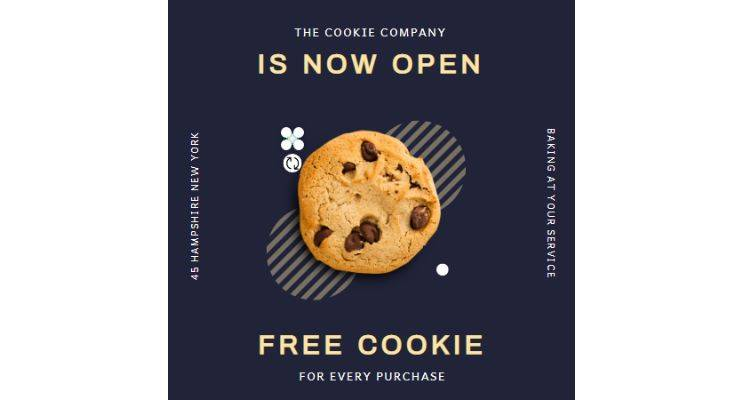 The Cookie Company Instagram Post Template