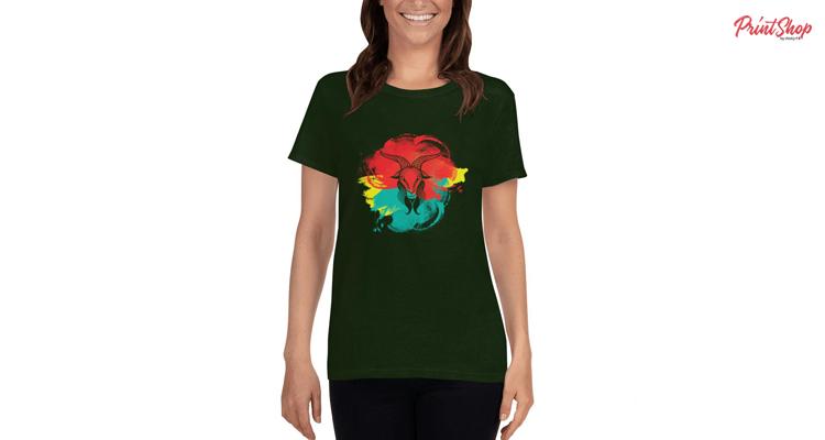 Capricorn Halloween Women's T-Shirt