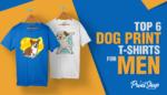 Dog Print T-Shirts
