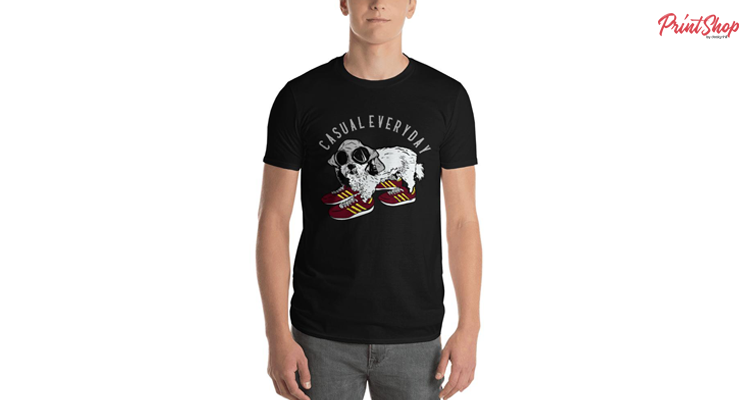 Doggies With Casual Style Men's Premium T-Shirt