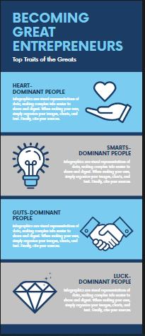 Entrepreneurs Infographics