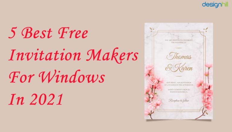 Free Invitation Makers