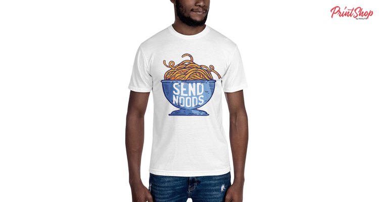 Funny Artwork Men's T-Shirt