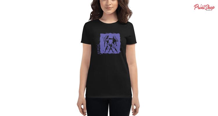 Gemini Zodiac Women's Fashion Fit T-Shirt