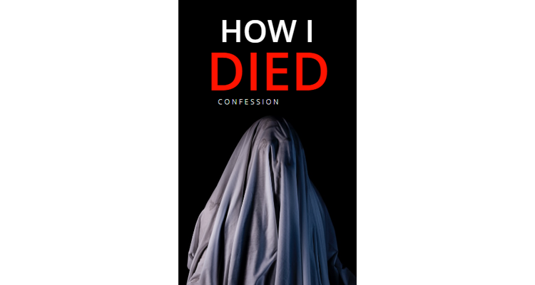 Horror Book Cover Template