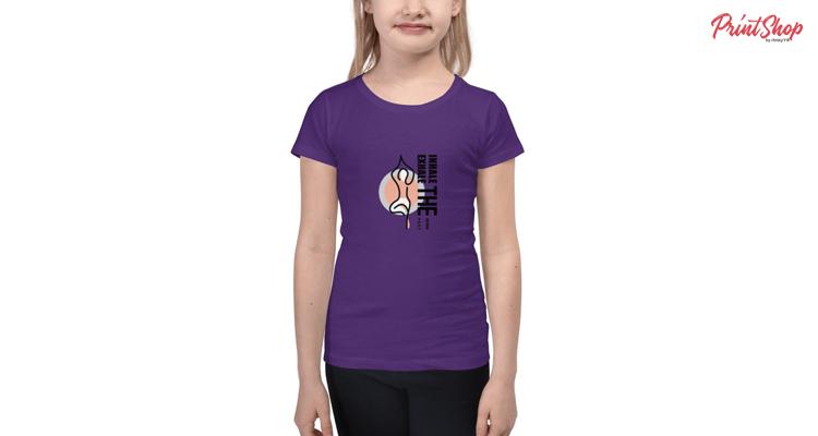 Inhale The Future Exhale The Past Kids Premium T-Shirt