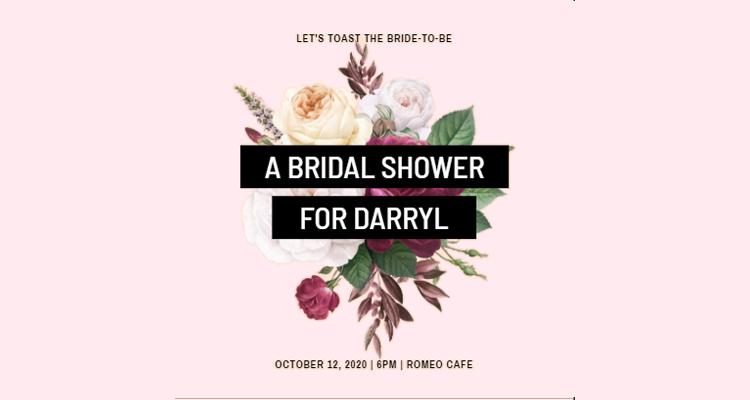 Invite for Bridal