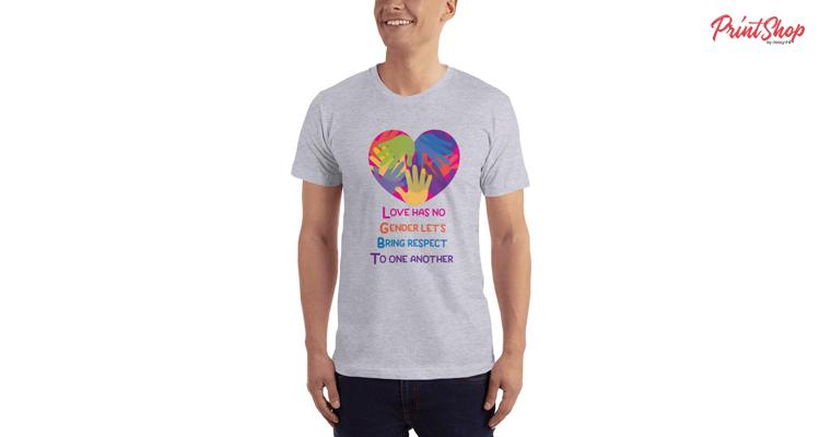 LGBT Unisex Premium Jersey T-Shirt