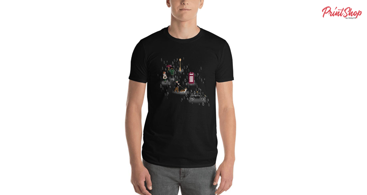 LONDONSEULBEGEY Men's Premium T-Shirt
