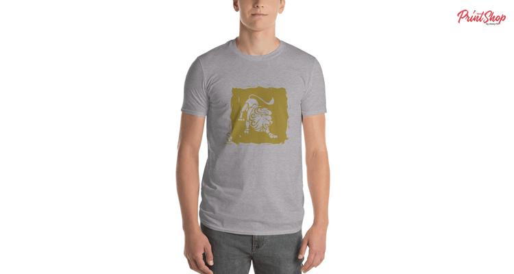 Leo Zodiac Men's Premium T-Shirt