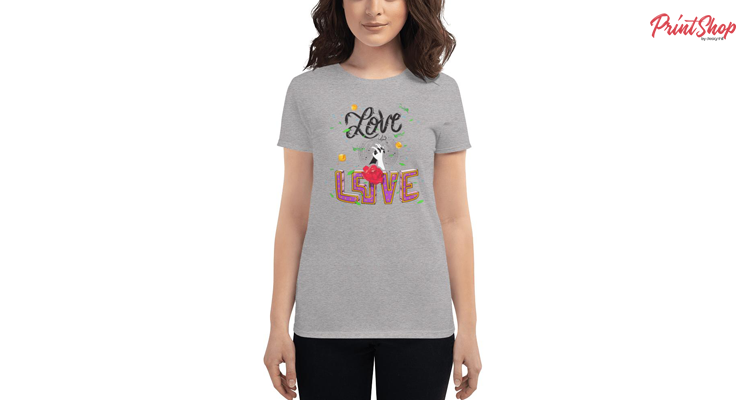 Love is Love Women's Fashion Fit T-Shirt