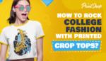 Printed Crop Tops