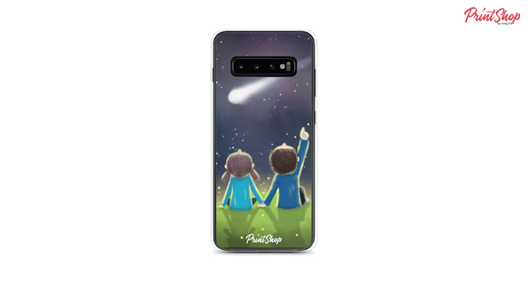 Under a starry sky Clear Case Samsung Case