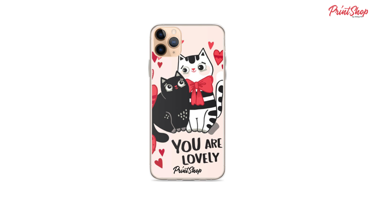 You Are Lovely Clear Case iPhone Case