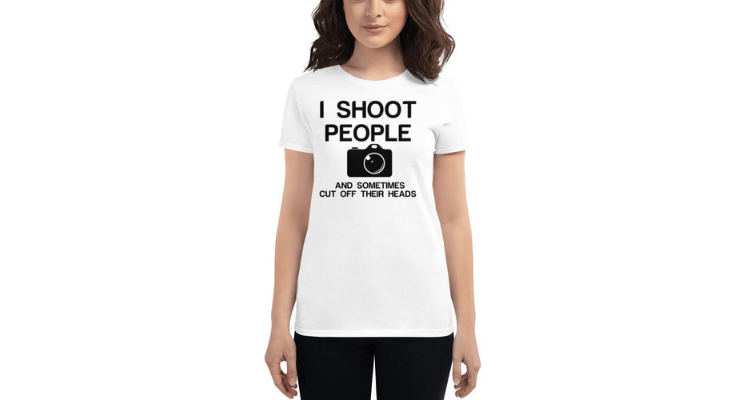 SHOOT PEOPLE CUT HEADS